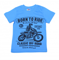 "Футболка ""Born to ride"""